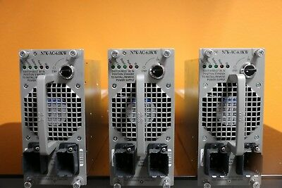 DELTA ENERGY SYSTEMS N7K-Ac-6 0Kw 6000W Cisco Nexus 7000 Power Supply Lot  Of 3