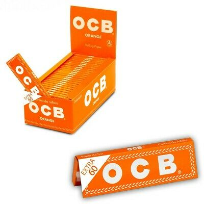 Ocb Orange 3000 Cartine Corte Box Da 50 Libretti Da 60 Cartine