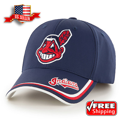 95ca7d138aa Cleveland Indians Hat Men MLB Adjustable Baseball Chief Wahoo Logo Cap One  Size