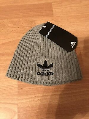 764151e706a Adults Adidas Beanie Mens Womens hats warm winter( Grey )free postage.on  sale