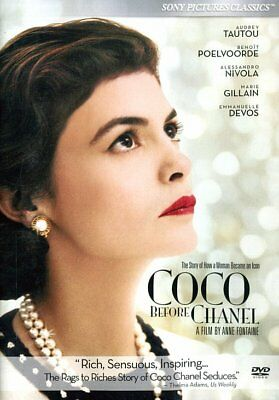 Coco Before Chanel NEW DVD