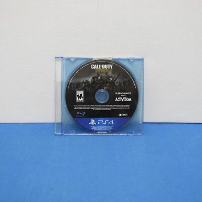 Call of Duty: WWII (Sony PlayStation 4, 2017) Excellent Condition