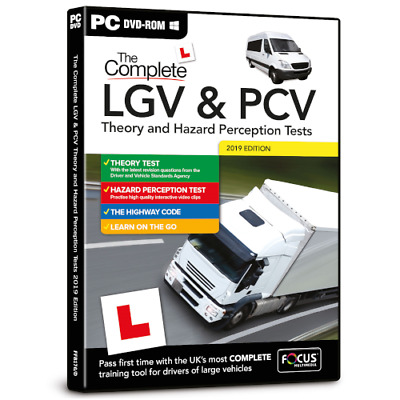 The Complete LGV & PCV Theory and Hazard Perception Tests 2019 Edition