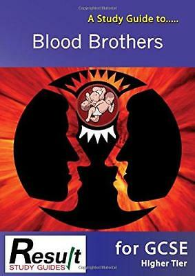 A Study Guide to Blood Brothers for GCSE: All Tiers, Very Good Condition Book, M