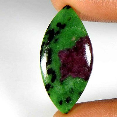 18.00Cts100% Natural Ruby Zoisite Marquis Cabochon Gemstones