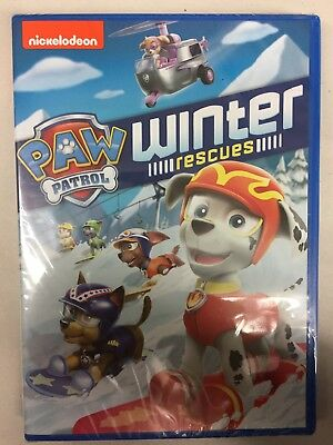 Paw Patrol: Winter Rescues [New DVD], Free Shipping