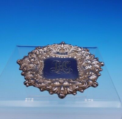 "Douvaine by Unger Sterling Silver Butter Pat 3 3/8"" x 1/8"" (#3203)"