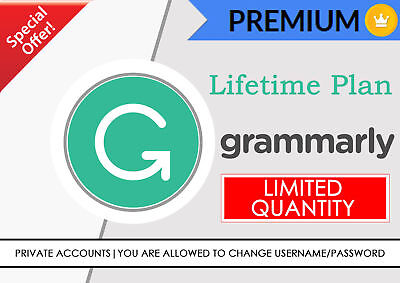 Grammarly Premium Lifetime Subscription - Fast Delivery