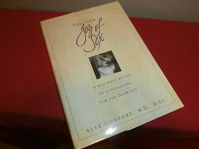 THE NEW JOY OF SEX Illustrated Hardcover Book ALEX COMFORT--Vintage 1991 Edition