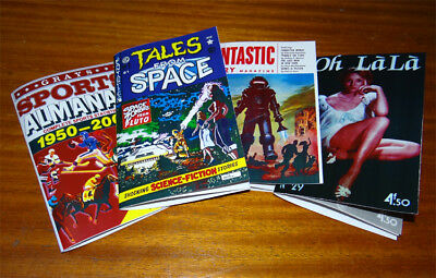 Sports Almanac 4 Books Back to the Future Props FREE SHIPP WORLDWIDE!!