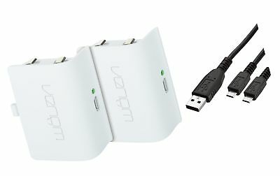Venom Xbox One Rechargeable Battery Twin Pack: White (Xbox One)