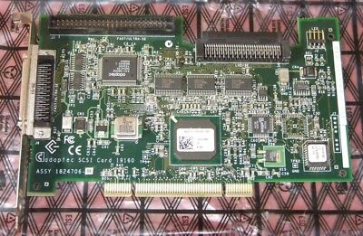 Adaptec PCI SCSI card 19160 ASC-19160