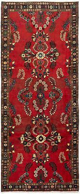 """Hand-knotted Persian Carpet 4'0"""" x 9'7"""" Lilihan Traditional Wool Rug"""