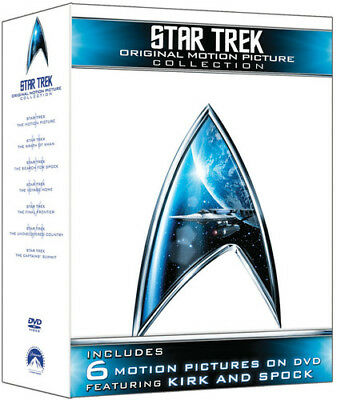 Star Trek: Original Motion Picture Collection 032429239013 (DVD Used Very Good)