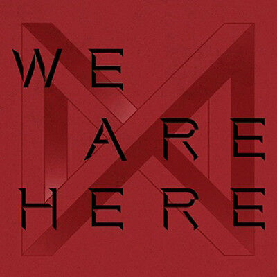 MONSTA X WE ARE HERE 2nd Album TAKE.2 4 Ver SET+1POSTER+4Book+8Card+4Pre-Order