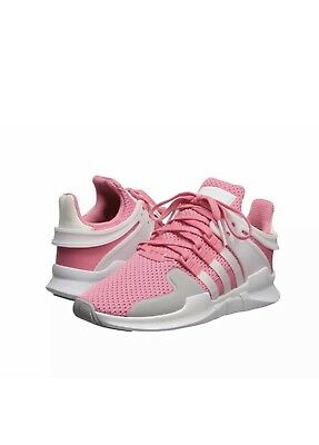 best service ebc4d 3cd5c Adidas Eqt Support Adv Shoes Youth Size 5 Women 6.5 Pink Gray White 94 New  Box