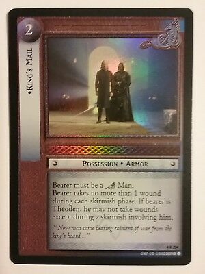 Lord Of The Rings Lotr Tcg King's Mail The Two Towers 4R284 Foil Card
