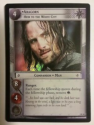 Lord Of The Rings Tcg Aragorn, Heir To White City Realms Of Elf Lords 3R38 Foil