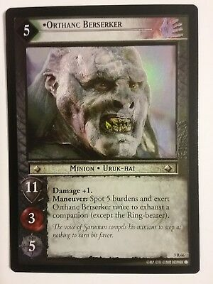 Lord Of The Rings Lotr Tcg Orthanc Berserker Realms Of The Elf Lords 3R66 Foil