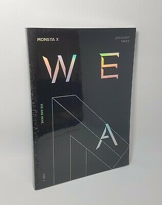 MONSTA X 2nd Album [TAKE.2 WE ARE HERE] Ver.I CD+Photobook+2p Photocard Sealed