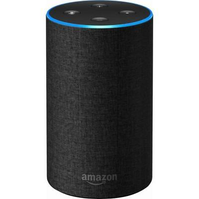 Echo (2nd Generation) Smart speaker with Alexa Charcoal, Gray, Sandstone Fabric