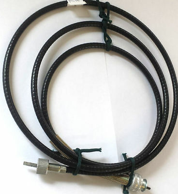 """Vintage Royal Enfield 54"""" Long Speedo Cable Smiths Rear Wheel Speedometer Cable"""
