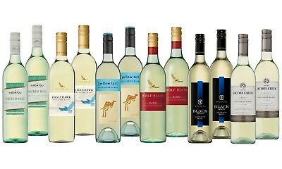AU Best Seller Sauvignon Blanc Varietal Mixed Wine Pack - 12x750mL FREE SHIPPING