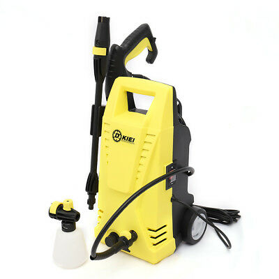 Mobile Electric High Pressure Washer 1520PSI/105 BAR Power Jet Patio Car Cleaner