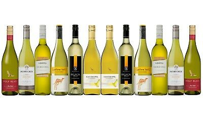 AU Best Seller Chardonnay Varietal Mixed Wine Pack - 12 x 750mL FREE SHIPPING