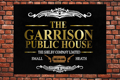 Peaky Blinders The Garrison Metal Sign Wall Gift Present Tommy Shelby