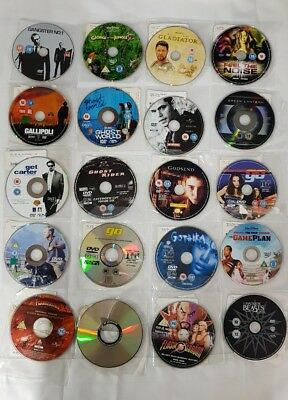 Dvd Bundle 20 discs job lot:  Comedy |Chick flick Action |Horror **disc only**