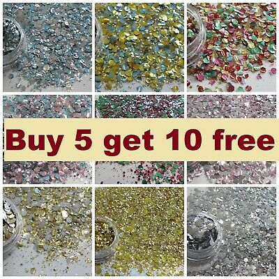 Chunky Glitter Mix Pots Face Eye Body Festival Club Cosmetic-- BUY 6 GET 8 FREE
