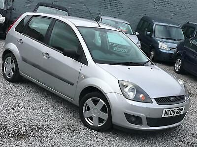 2006 Ford Fiesta 1.4 Zetec Automatic 5dr Silver