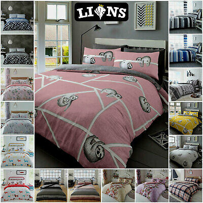 SAUSAGE DOG Dachshund Animal Print Duvet Cover Quilt Bedding Set With Pillowcase