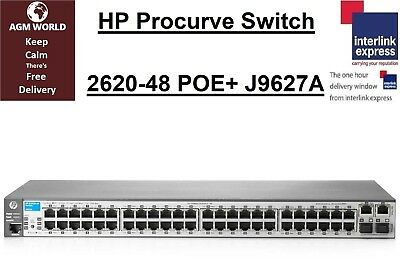 HP Procurve Switch 2620-48 POE+ J9627A