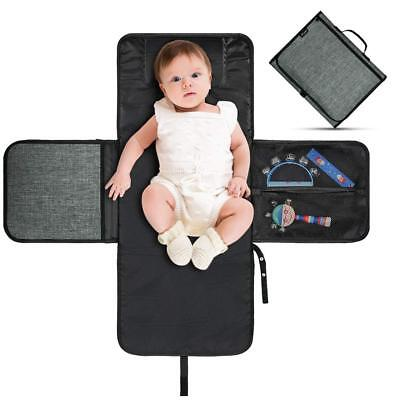 Baby Diaper Changing Pad Portable Infant Nappy Changing Mat Clutch for Travel