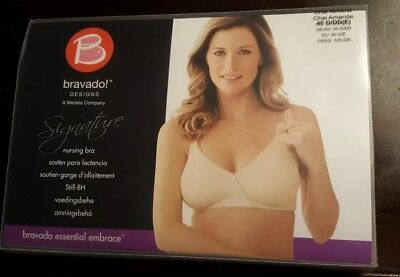 ca0fbe94784aa New Bravado Designs Women's Essential Embrace Nursing Bra 40 D/DD(E)Chai