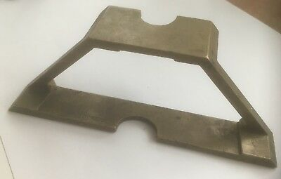BRASS MITRE GAUGE/TEMPLATE E.PRESTON & SONS and A STEEL DOVETAIL MARKER