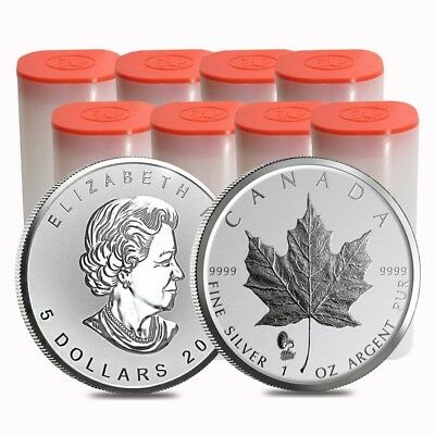 Lot of 200 - 2019 1 oz Silver Maple Leaf Phonograph Privy Reverse Proof Coin BU