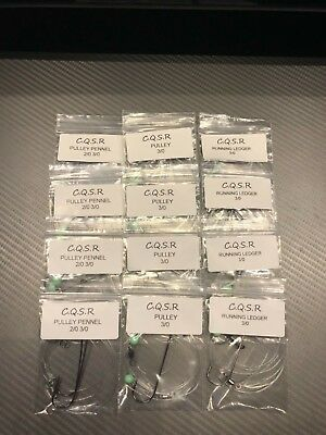 12 Mixed Sea Fishing Rigs With Rig Wallet Limited Availability Top Selling Rigs