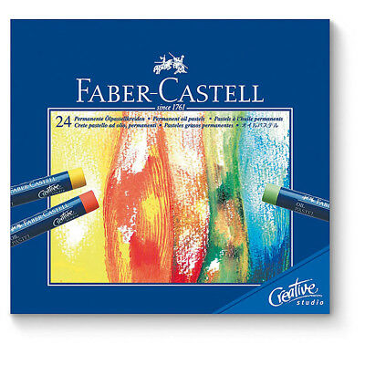 Faber-Castell - Box of 24 Creative Studio Oil Pastels
