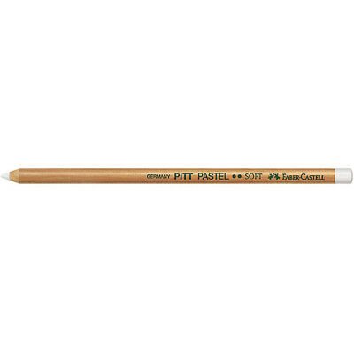 Faber-Castell (Single) - Pitt Pastel Pencil Medium White (101)