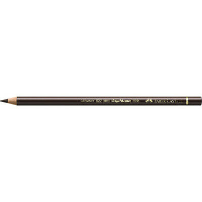 Faber-Castell (Single) - Polychromos Artists' Pencil Burnt Umber (280)