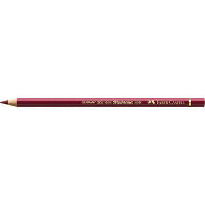 Faber-Castell (Single) - Polychromos Artists' Pencil Dark Red (225)