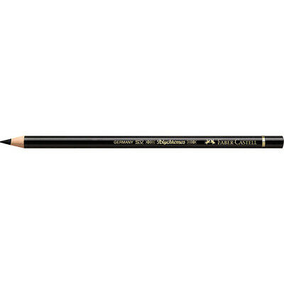Faber-Castell (Single) - Polychromos Artists' Pencil Black (199)