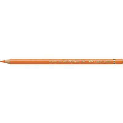 Faber-Castell (Single) - Polychromos Artists' Pencil Cadmium Orange (111)