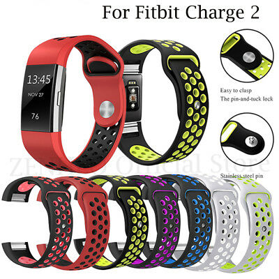 Replacement Spare Soft Silicone Sport Band Bracelet Strap for Fitbit Charge 2
