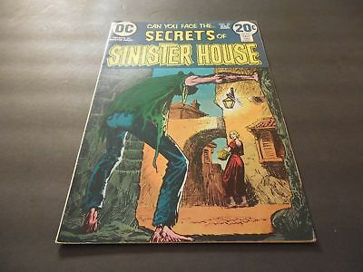 Secrets Of Sinister House #10 March 1973 Bronze Age DC Comics            ID:7998