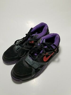 more photos c4f02 19f25 Nike Air Trainer Iii Blackmix Orangechacoal-Purple Size Mens 12