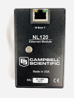 Campbell Scientific NL120 Ethernet Module CR1000 CR3000 Datalogger Network